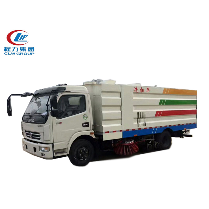 4X2 Dongfeng 5m3 Road Cleaning Trucks