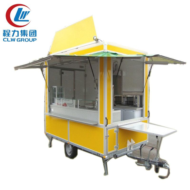 Single Axle Mobile Food Dolly Trailers