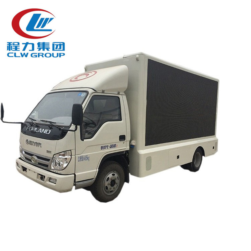 P6 Mobile Billboard LED Advertising Trucks