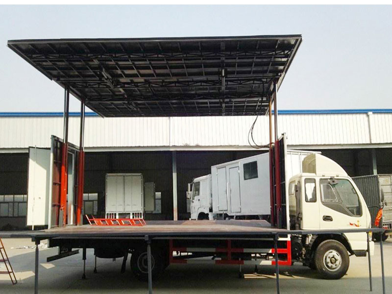 Mobile Stage Roadshow Truck With LED Screen For Sale, China
