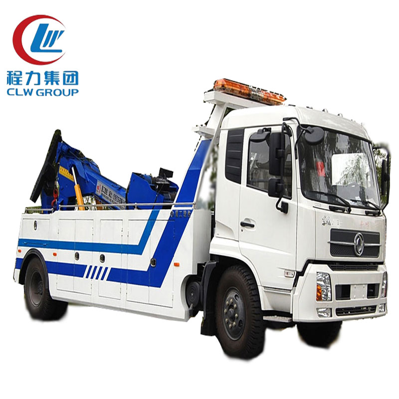 Dongfeng 5 Tons Integrated Tow Trucks