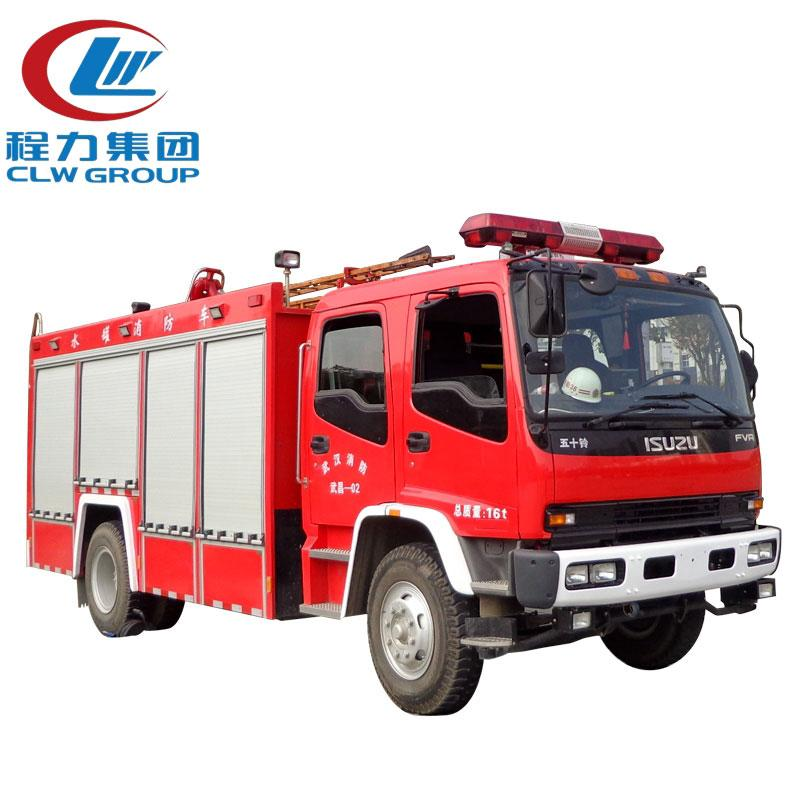 10CBM ISUZU Foam Water Fire Fighting Trucks