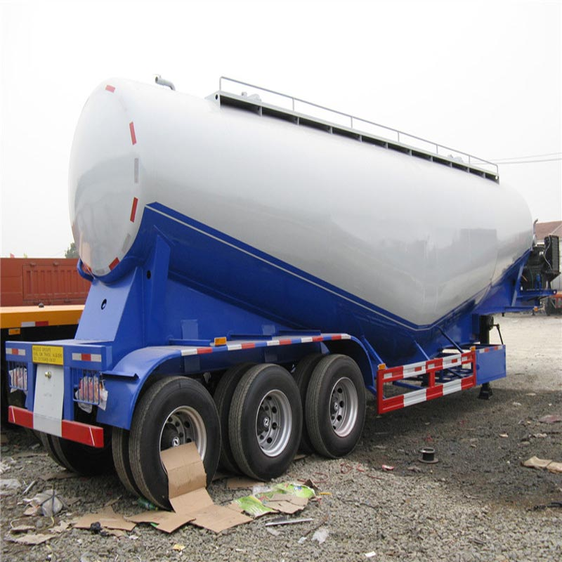3 Axles 40 CBM Cement Tank Trailers