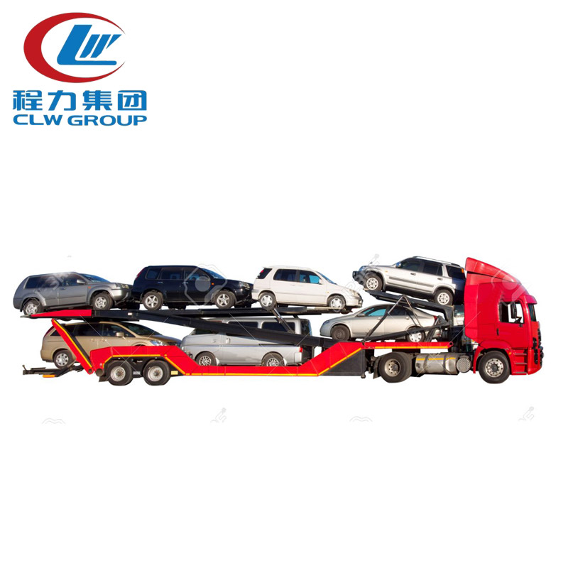 4x2 FAW Car Carrirer Truck for 5 Sets Cars