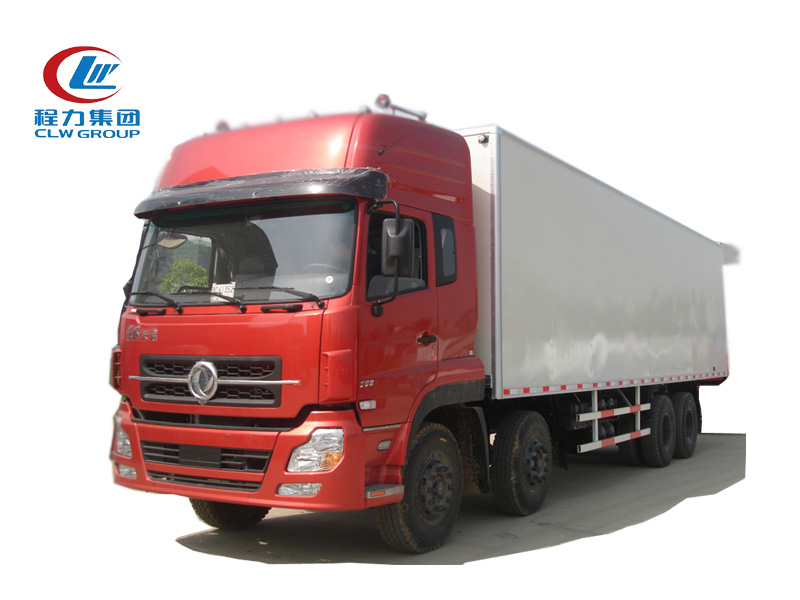 8X4 Dongfeng 30T Logistics Refrigerated Trucks
