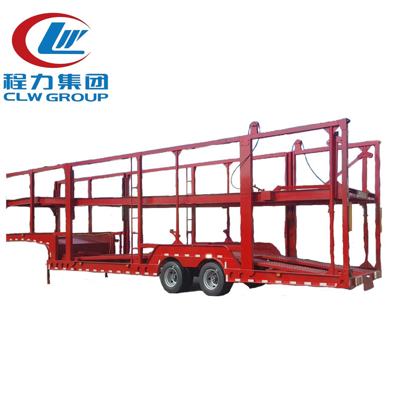 2 Axles Long Distance Enclosed Car Carrier Trailers