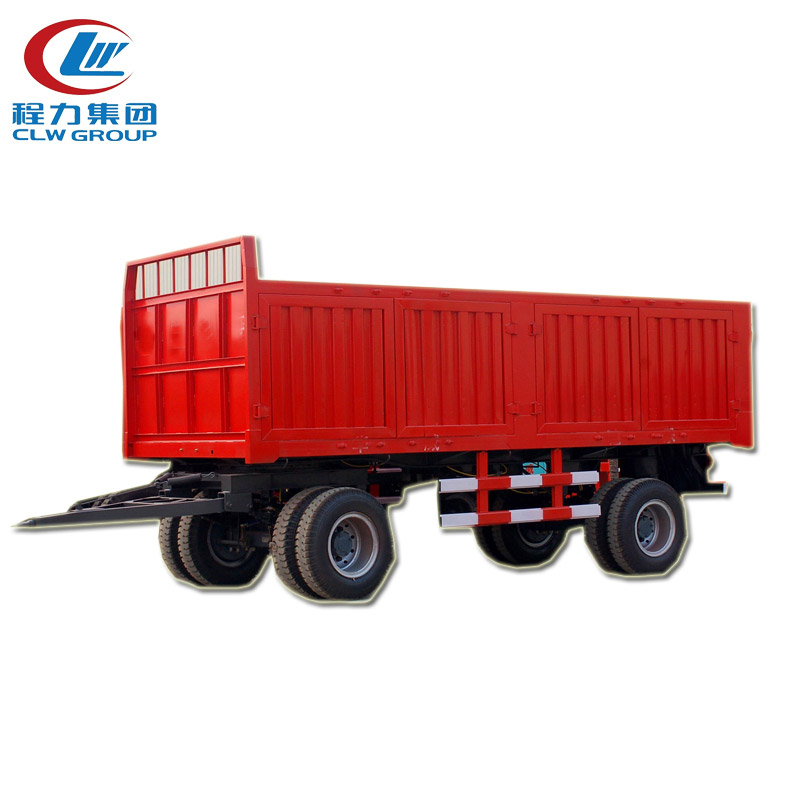 2 Axle Low Bed Dollytrailer With Turntable
