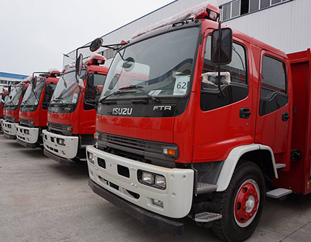 ISUZU Fire Fighter Truck