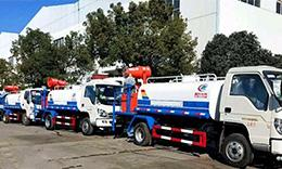Dust Control Truck From Chengli Helped The First Green Demolition Of Xiongan District In Beijing