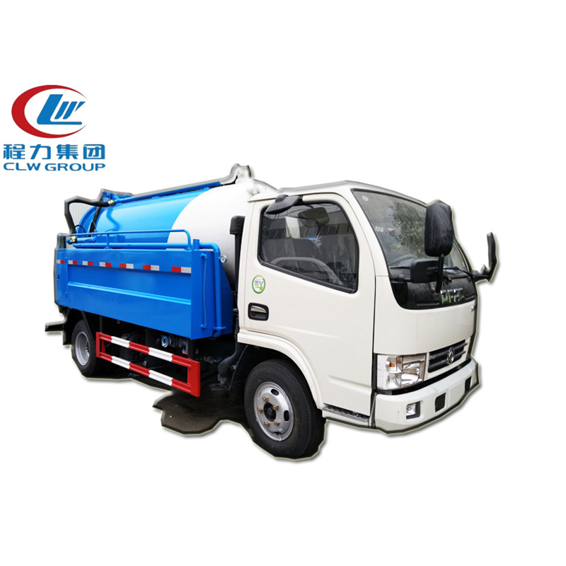 4X2 Dongfeng 5CBM Sewer Cleaning Trucks
