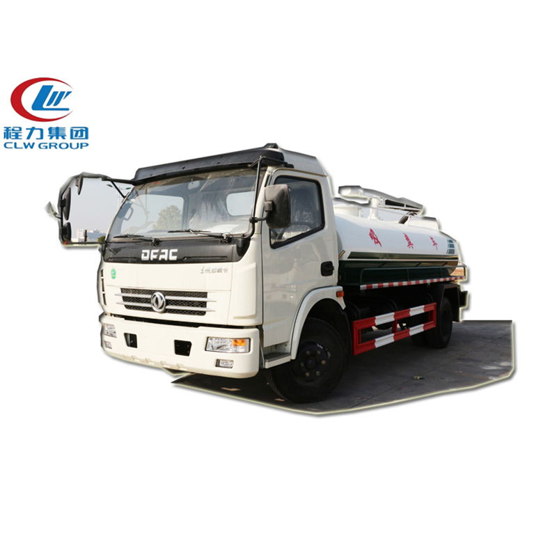 4X2 Dongfeng 5CBM Fecal Suction Trucks