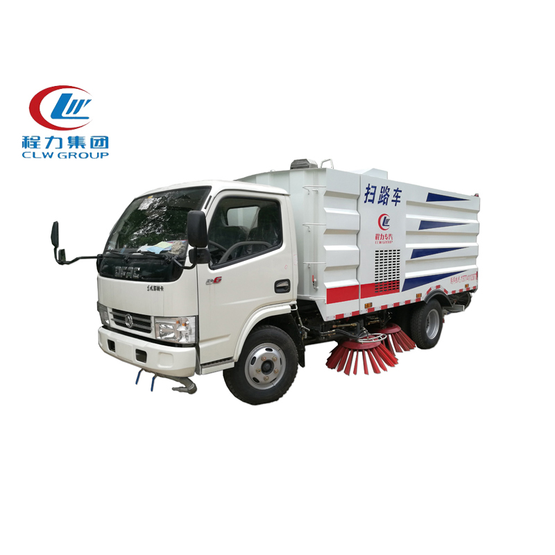 4X2 Dongfeng 5CBM Sweeper Trucks