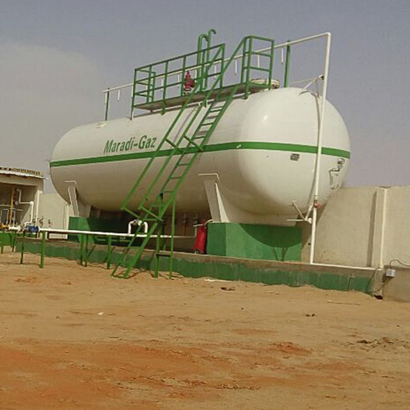 50000 Liter Gas Filling Station For Cylinder