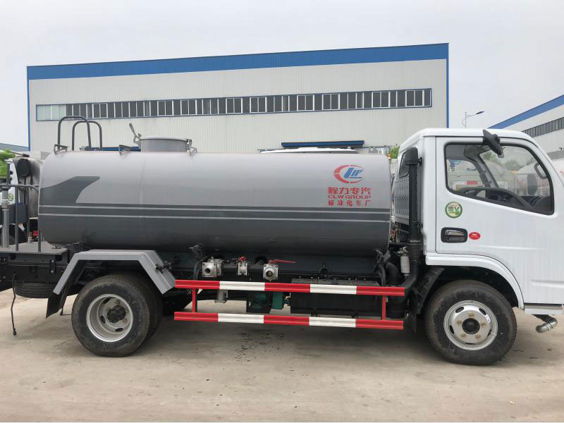 4x2 Dongfeng 5CBM Water Tanker Truck