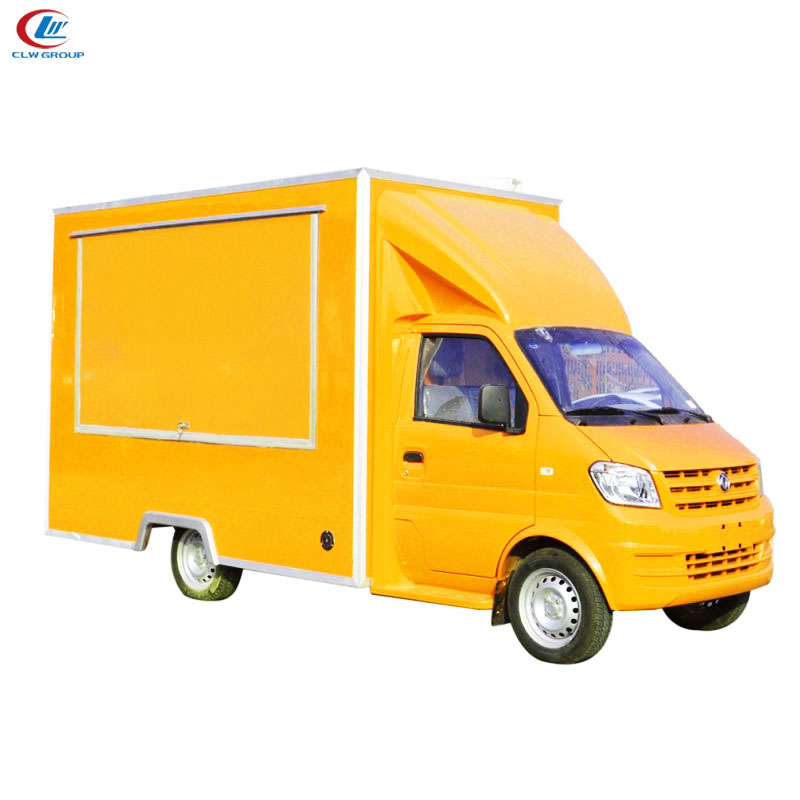 Dongfeng 4X2 95hp Diesel Mobile Food Truck