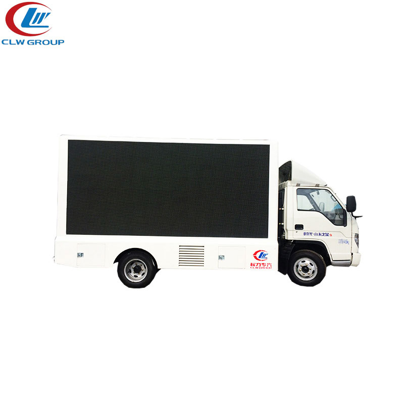Foton 4X2 86hp double sides P4 Led Truck